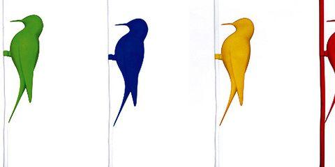 Blue, Vertebrate, Bird, Beak, Feather, Teal, Aqua, Natural material, Silver, Earrings,