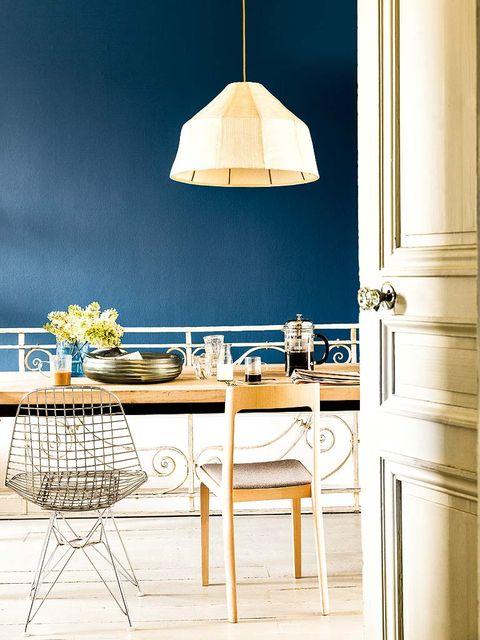 Room, Table, Interior design, Lampshade, Furniture, Umbrella, Interior design, Tints and shades, Light fixture, Home accessories,