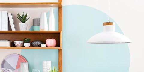 Blue, Room, Interior design, Wall, White, Teal, Furniture, Turquoise, Aqua, Home,