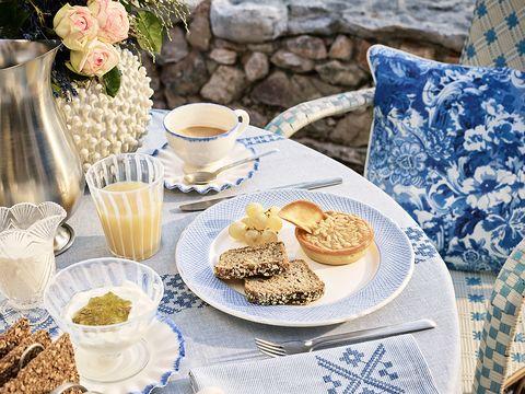 Serveware, Dishware, Cuisine, Coffee cup, Cup, Finger food, Food, Drinkware, Porcelain, Tableware,