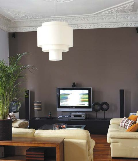 Room, Interior design, Living room, Display device, Electronic device, Wall, Ceiling, Furniture, Home, Interior design,