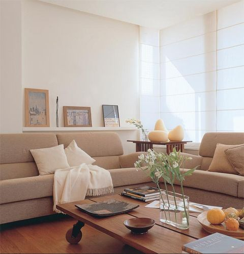 Room, Interior design, Brown, Wood, Living room, Table, Furniture, Couch, Wall, Interior design,