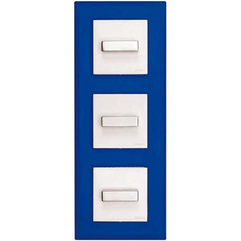 Line, Rectangle, Azure, Electric blue, Parallel, Cobalt blue, Composite material, Symmetry, Square, Number,