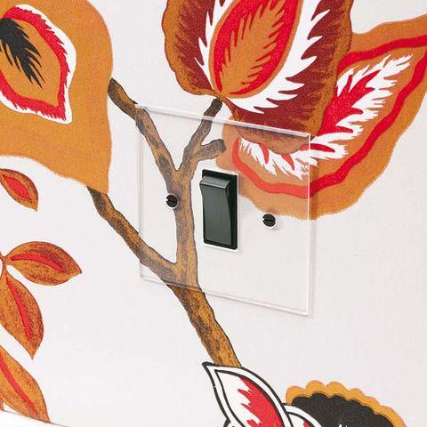 Leaf, Red, Orange, Art, Carmine, Flowering plant, Botany, Twig, Illustration, Painting,