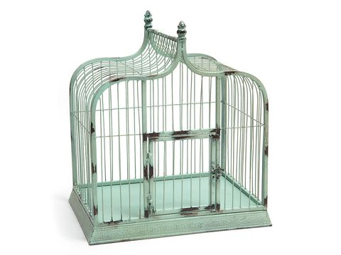 Product, Cage, Pet supply, Iron, Teal, Aqua, Turquoise, Dog supply,
