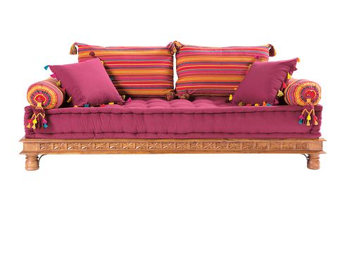 Brown, Wood, Magenta, Couch, Furniture, Red, Purple, Outdoor furniture, Violet, Rectangle,