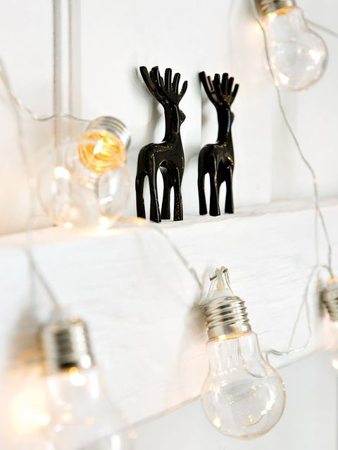 Deer, Glass, Reindeer, Incandescent light bulb, Light bulb, Antler, Transparent material, Natural material, Fawn, Still life photography,