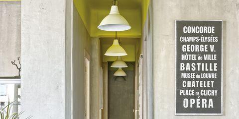 Flowerpot, Light fixture, Ceiling, Houseplant, Herb, Ceiling fixture, Windsor chair, Commemorative plaque, Tile,