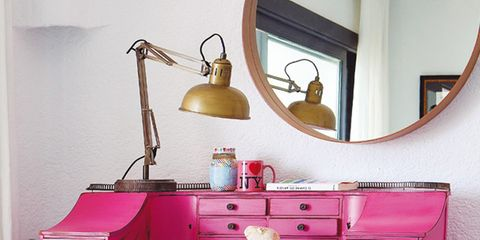 Room, Product, Interior design, Drawer, Furniture, Red, Pink, Chest of drawers, Wall, Cabinetry,