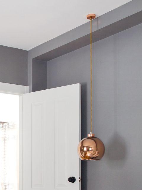 Wall, Lock, Door, Dead bolt, Home door, Fixture, Handle, Metal, Household hardware, Door handle,