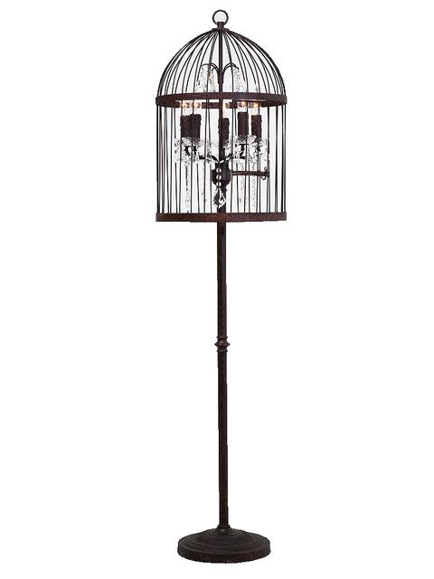Cage, Pet supply, Iron, Bird, Black-and-white, Bird supply, Lighting accessory, Balance,