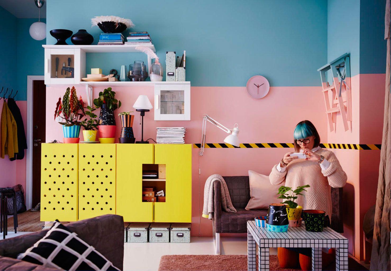 Ideas De Decoracion Con Muebles De Ikea.Rescatamos Las 35 Ideas Mas Originales Del Catalogo De Ikea