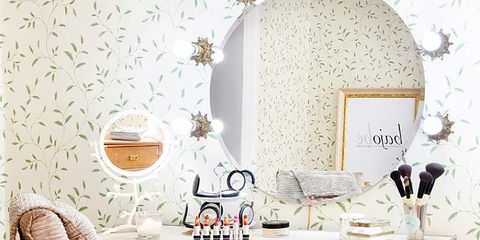 Room, Wood, Interior design, Furniture, Table, Interior design, Drawer, Hardwood, Peach, Teal,