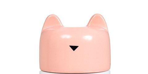 Pink, Orange, Aqua, Pattern, Turquoise, Peach, Polka dot, Toy, Livestock,
