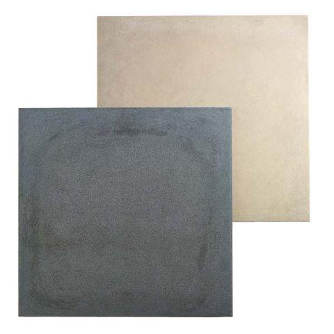 Rectangle, Grey, Beige, Silver,
