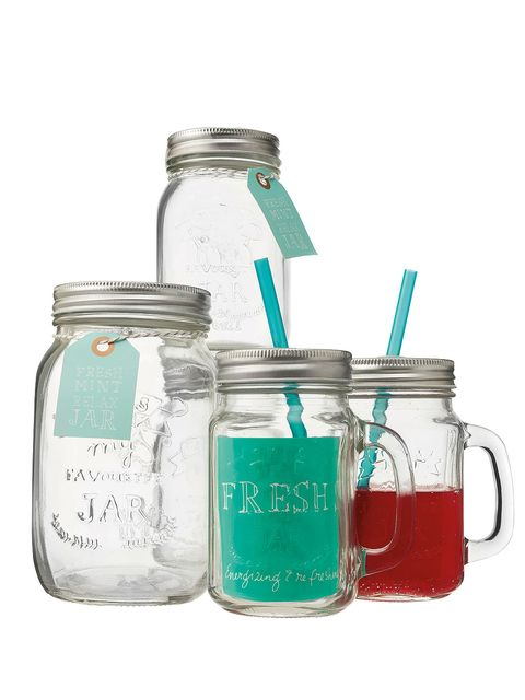 Product, Ingredient, Teal, Food storage containers, Mason jar, Aqua, Turquoise, Drinkware, Chemical compound, Lid,
