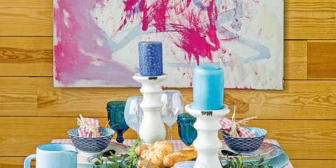 Serveware, Dishware, Turquoise, Paint, Fruit, Teal, Aqua, Drinkware, Still life, Lavender,