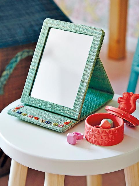 Teal, Turquoise, Home accessories, Square, Personal computer, Computer, Ladder, Still life photography, Still life, Craft,