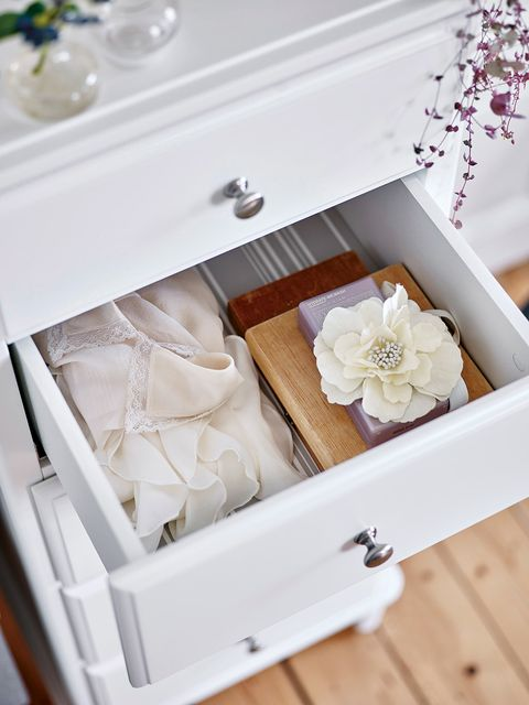 Brown, White, Petal, Beige, Silver, Drawer, Peach, Molding, Natural material, Still life photography,