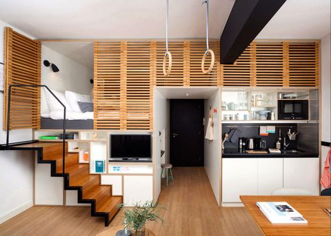 Wood, Interior design, Room, Floor, Flooring, Hardwood, Ceiling, Wall, Wood stain, Cupboard,