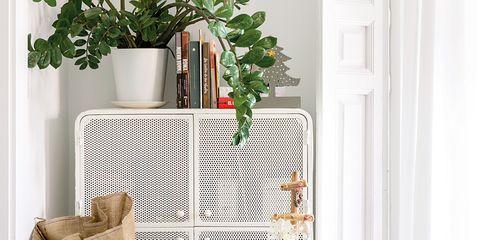 Christmas stocking, Christmas decoration, Room, Furniture, Interior design, Shelf, Christmas tree, Tree, Table, Home,
