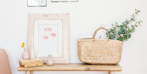 Product, Room, Wall, Furniture, Pink, Peach, Interior design, Living room, Shelf, Table,