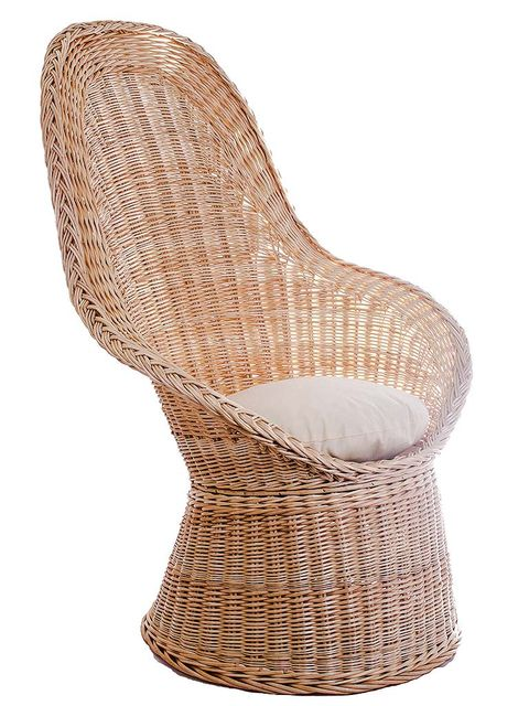 Beige, Synthetic rubber, Wicker, Foot,