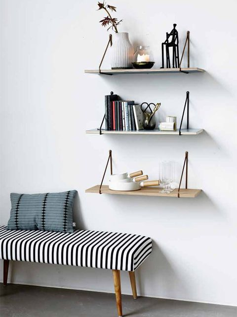 Wood, Room, Interior design, Wall, Shelving, Furniture, White, Shelf, Couch, Grey,
