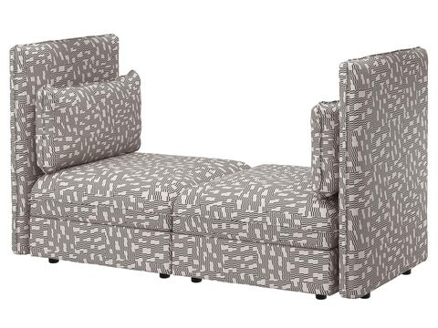 Style, Black, Grey, Rectangle, Black-and-white, Monochrome, Armrest, Wicker, Club chair, Futon pad,