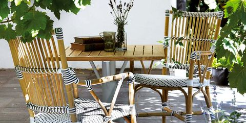 Wood, Furniture, Hardwood, Leaf, Chair, Outdoor furniture, Flowerpot, Outdoor table, Home, Patio,