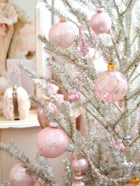Esta navidad ponte rosa - Arboles de navidad rosa ...