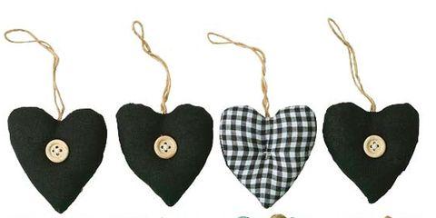 Green, Pattern, Red, Heart, Love, Organ, Carmine, Holiday, Design, Earrings,