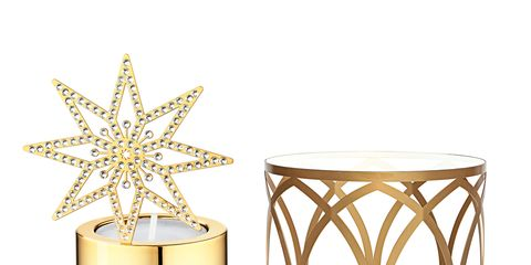 End table, Home accessories, Natural material, Metal, Coffee table, Brass, Silver, Star, Bronze, Oval,