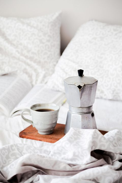 White, Table, Room, Still life, Tableware, Bed sheet, Cup, Textile, Bedroom, Furniture,