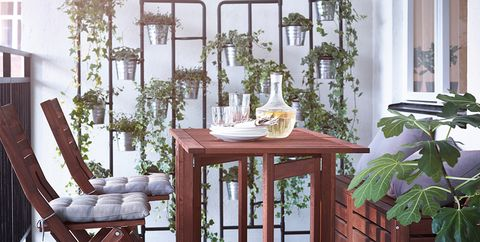 Furniture, Room, Dining room, Table, Interior design, Chair, Kitchen & dining room table, Floor, Houseplant, Design,