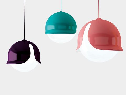 Product, Light fixture, Lighting accessory, Line, Lampshade, Light, Aqua, Interior design, Teal, Tints and shades,