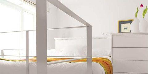 Product, Room, Interior design, Floor, Flooring, Linens, Grey, Bed frame, Bed, Bedding,