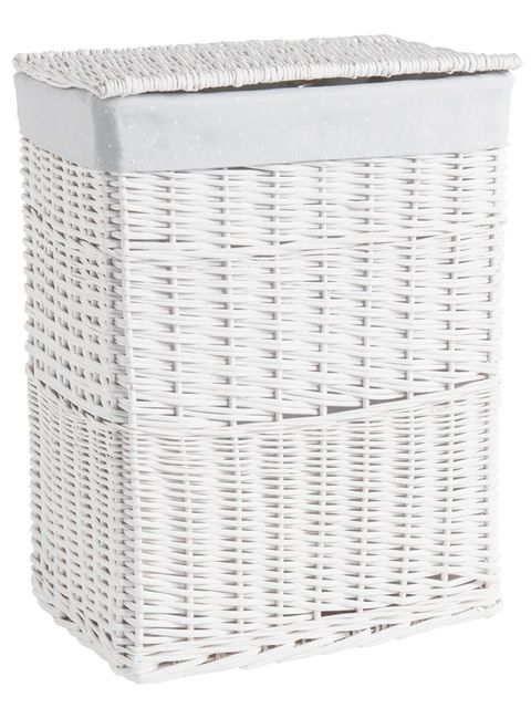 Wicker, Laundry basket, Storage basket, Basket, Home accessories, Rectangle, Outdoor furniture, Household supply,