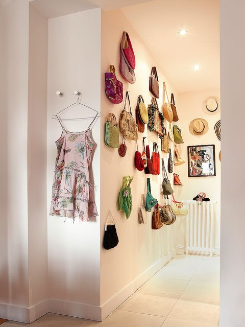 Room, Wall, Interior design, Boutique, Footwear, Textile, Furniture, Clothes hanger, Building, House,