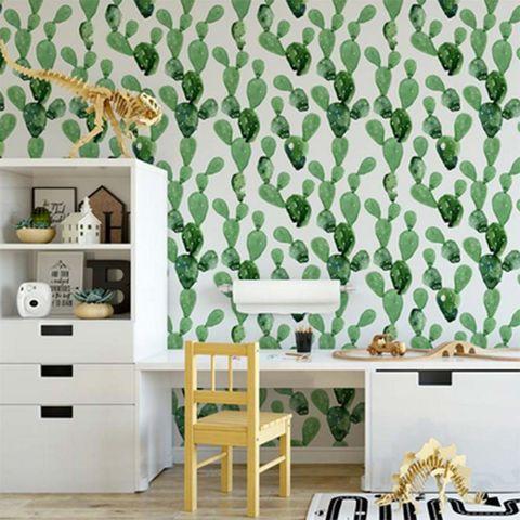 Los cactus invaden las paredes!