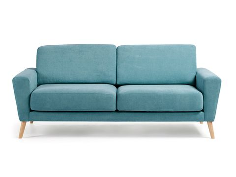 Furniture, Couch, Turquoise, Sofa bed, Aqua, Teal, studio couch, Loveseat, Comfort, Chair,