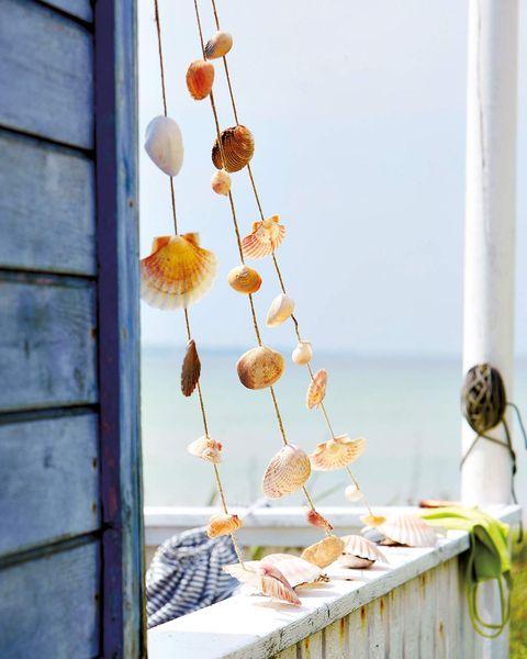 decorar con conchas de la playa