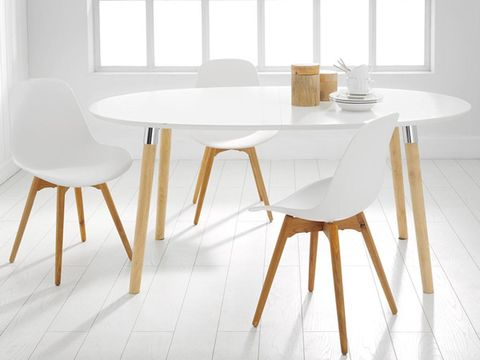 Wood, Product, Yellow, Floor, Room, Flooring, Table, Interior design, Furniture, White,