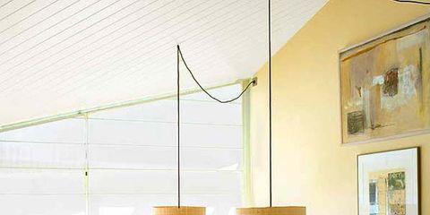 Interior design, Room, Table, Furniture, Wall, Ceiling, Dishware, Cuisine, Interior design, Picture frame,