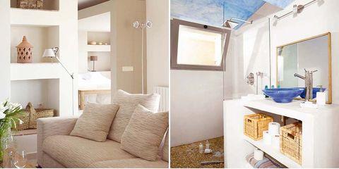 Room, Furniture, Interior design, Property, Product, Building, Purple, Living room, Wall, Floor,