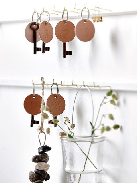 Brown, Earrings, Twig, Orange, Natural material, Metal, Peach, Craft, Still life photography, Copper,