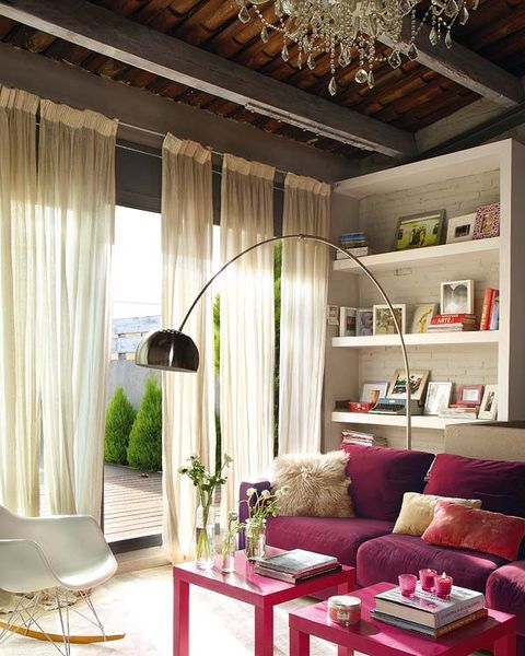 Room, Interior design, Furniture, Ceiling, Interior design, Table, Floor, Living room, Couch, Wall,