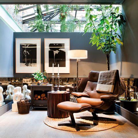 Interior design, Wood, Room, Floor, Living room, Interior design, Furniture, Flooring, Home, Couch,