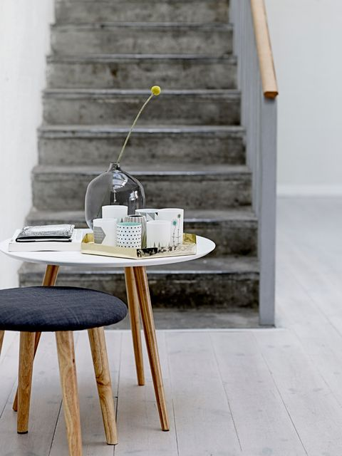 Wood, Table, Stairs, Grey, Outdoor furniture, Wood stain, Still life photography, Plywood, Siding, Coffee cup,