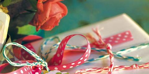 Green, Red, Pattern, Present, Christmas decoration, Creative arts, Christmas, Craft, Paper product, Ribbon,